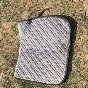 AP saddle pad grey